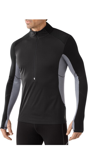 Smartwool M's PhD Wind Zip T Black